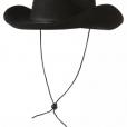 BESTÄLLNINGSVARA Cowboyhatt svart 65kr