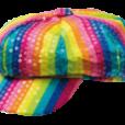 BESTÄLLNINGSVARA peljetthatt rainbow 65kr