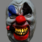BESTÄLLNINGSVARA Latexmask Chief Clown scary 129kr