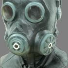 BESTÄLLNINGSVARA latexmask Gas smoke deluxe 749kr