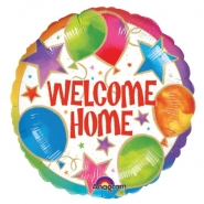 Folieballong 43cm welcome home 28kr