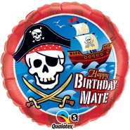 folieballong 46cm Pirate 26kr
