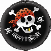 Folieballong 45,7cm Pirate fun 26kr