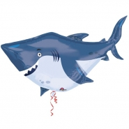 Folieballong supershape 100cm Oceanbuddies shark 69kr