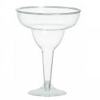 Fullstora Margaritaglas av plast 235ml 20st 249kr