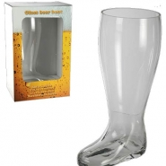 XXL beer boot glas 329kr