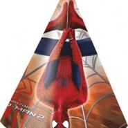 Partyhattar Spiderman 6st 45kr