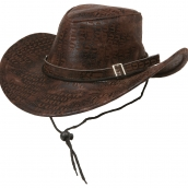 cowboyhatt brun 89kr