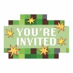 Inbjudan 8st Minecraft 49kr