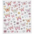 Stickers fjärilar 15kr