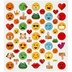 Stickers smileys 15kr