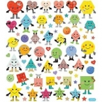 Stickers smileys shapes 15kr