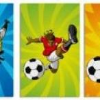 Fotboll anteckingsböcker 8st 23kr