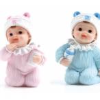 Tårtdekoration Baby blå eller rosa 58kr st