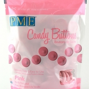 Pme candy buttons Pink 340g 69kr