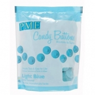 Pme candy buttons Light blue 340g 69kr
