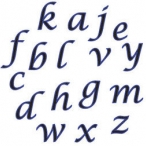 Fmm utstickare Alfabet gemener kursiv 85kr (2)