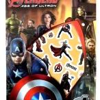 Stickerset Avengers 25kr