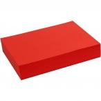 20410 färgat papper A4 80g 500st röd 179kr