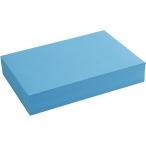 20411 färgat papper A4 80g 500st blå 179kr