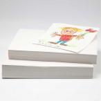 Återvunnet papper A4 100g 50st (bra till vattenfärg och kritor) 19kr