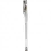 Gel kulspetspenna, spets 0,8 mm, silver  styckvis 14kr