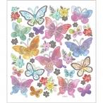Stickers fjärilar pastell 15kr