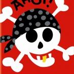 Inbjudningar 8p pirat 20kr