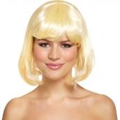 Peruk bobcut blond 79kr