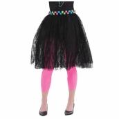 Kjol svart spets tutu 129kr
