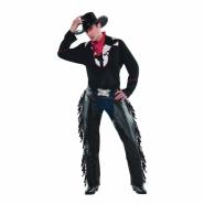 Men´s costume cowboy (ej skor, hatt) size M L 519kr