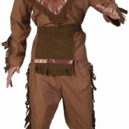 Costume native american man one size 329kr