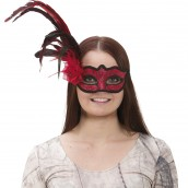venetian eye mask red 159kr