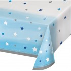Duk av plast 137x259cm twinkle little star blue 53kr