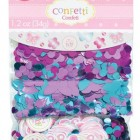 Konfetti welcome baby girl 3 sort. 34kr