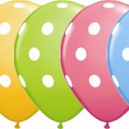 Ballonger 27,96cm 6p dots 32kr