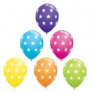 Ballonger 27,96cm 6p stars 32kr