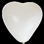 Hjärtballonger 37,5cm 8st vita 39kr