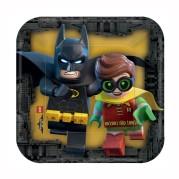 Pappersassietter 17,1cm 8p Lego batman 39kr