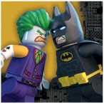 Servetter 2-lags 16p Lego batman 39kr