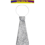 Slips glitter silver 41x15cm 39kr