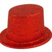 Top hat glitter röd 30kr