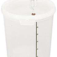 Jäshink 30 liter graderad m. gummipackning o lock. Utan grepe 159kr