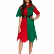 Dräkt Elf klänning vuxen