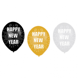 Ballonger Happy new year 6p