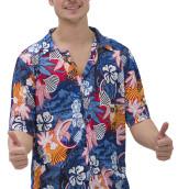 Hawaiiskjorta + shorts onesize 249kr