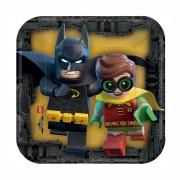 Pappersassietter Lego batman 8p