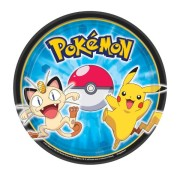 Pappersassietter Pokemon 8p