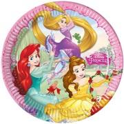 Papperstallrikar Disney prinsessor 8p