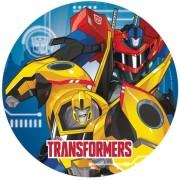 Papperstallrikar Transformers 8p